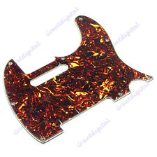 Useful Flame Pattern 3 Ply 8 Hole Pickguard For Fender Telecaster Guitar Parts