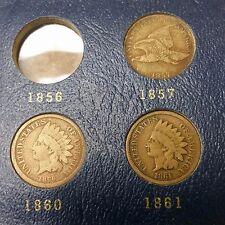 Indian Head Cent Album: Missing 1856, 1877, 1909-S - Shipped FREE! - OFFER?
