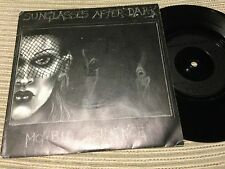 "SUNGLASSES AFTER DARK - MORBID SILENCE 7"" SINGLE ANAGRAM 84 GOTH ROCK DARKWAVE"
