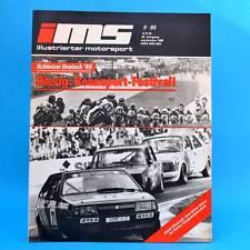 DDR Zeitschrift IMS 9/1989 Illustrierter Motorsport Schleizer Dreick Moto-Cross