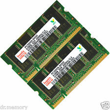 1 go (2x512) ddr-400 pc3200 ordinateur portable (mémoire sodimm mémoire RAM) (Kit) 200 broches
