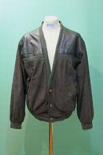 Coole  80er Jacke Gr L/54 Leder&Textil Herren oldschool vintage style TOP