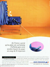 PUBLICITE ADVERTISING 096  1995   Air France   nouvel espace 127