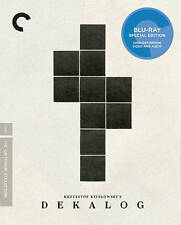 Criterion Blu-Ray. DEKALOG box set. Krzysztof Kieslowski. New in shrinkwrap