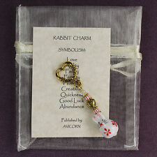 RABBIT CHARM Totem Bunny Symbol Amulet Talisman Attraction Magic Spell Love Sign