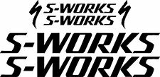 Specialized S-WORKS Bicycle Decal Set (Gloss Black)