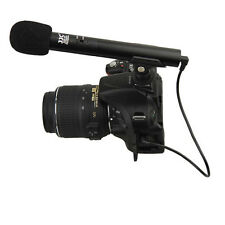 JJC SGM-185 DSLR Video Mini Shotgun Microphone Canon 70D 7DII 60D 5DIII 7D 6D
