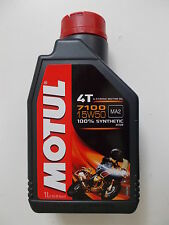 MOTUL OLIO MOTORE 7100 4T 15W-50 MA2 ESTER 100% SINTETICO FLACONE da 1 LITRO