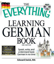 The Everything Learning German Book by Edward Swick Book | NEW Free Post AU