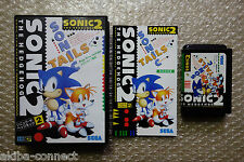 "Sonic the Hedgehog 2 ""Good Condition"" Sega Megadrive Import Japan"