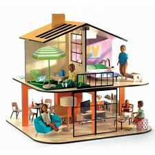 Djeco Modern Doll House - Colour House
