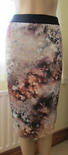 TED BAKER BNWT! ~Sequin Print~ Pencil Skirt UK 8 1 Wedding Party Dress RRP £109