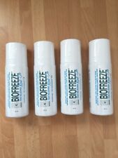 BIOFREEZE PAIN RELIEF ROLL-ON 89ML x 4 UNITS