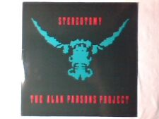 ALAN PARSONS PROJECT Stereotomy lp ITALY