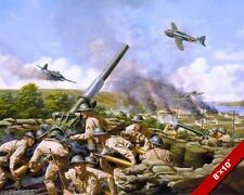 WWII JAPANESE ATTACK ON ALASKA PAINTING US MILITARY HISTORY ART CANVAS PRINT