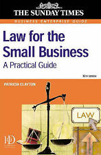 Law for the Small Business (Business Enterprise) Patricia E. Clayton Very Good B
