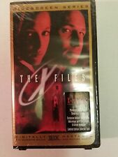 ORIGINAL 1998 THE X FILES MOVIE WIDESCREEN SEALED THX VHS VIDEO DIGITAL MASTER