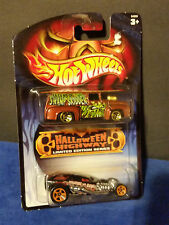 Hot Wheels Halloween Highway 2 Pack w/surf crate and 66 ford