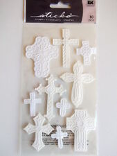 STICKO DIMENSIONAL STICKERS - CROSSES