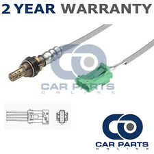 FOR PEUGEOT 407 2.2 16V 2004- 4 WIRE FRONT LAMBDA OXYGEN SENSOR DIRECT FIT