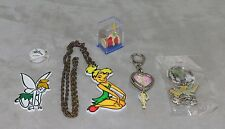 Disney Tinkerbell Tinker Bell x6 Magnet Necklace Key Chain Figure