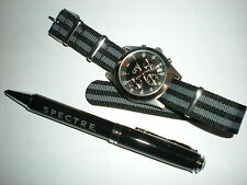 JAMES BOND 007  SPECTRE PEN & NATO MILITARY WATCH STRAP - SKYFALL, CASINO ROYALE