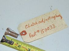 Nos Vintage PPT PassePartout Twin Tracked Vehicle Clutch Adjusting Bushing