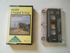 RUSH A FAREWELL TO KINGS CASSETTE TAPE MERCURY