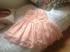 CINDERELLA PEACH dress size 10 12 Nuovo con etichette