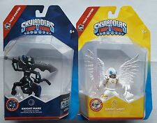 SKYLANDERS TRAP TEAM KNIGHT LIGHT & KNIGHT MARE TRAP MASTERS VERY RARE