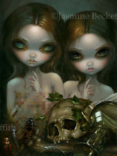 Jasmine Becket-Griffith art print zombie death fairy SIGNED Allegory of Decay