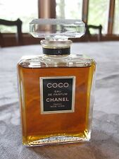 CHANEL COCO PARFUM 1.7 OZ ~ LOVELY CRYSTAL BOTTLE & STOPPER