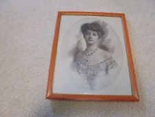 Vintage Campbell Studios Waldorf Astoria Pretty Woman with sketching