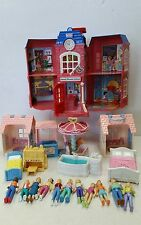 Fisher Price Sweet Streets School 11 People  Accessories Collection Lot Vintage