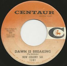"1966 NEW COLONY SIX debut 7"" 45rpm I Confess / Dawn Is Breaking Chicago Garage"