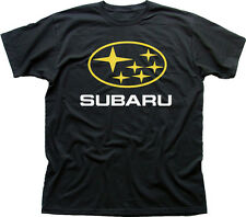 subaru impreza wrx sti badge car black cotton t-shirt 01080