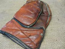 Vintage Leather Canada Goalie Hockey Glove   Antique Old Sports Equipment 9018