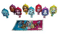 KINDER Surprise Monsters High LIMITED EDITION SERIE COMPLETA RARA 2016 Messico