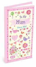 2017 To My Mum Heartwarmers Pocket Diary Gifts Diaries For Mums