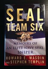 SEAL Team Six : Memoirs of an Elite Navy SEAL Sniper by Howard E. Wasdin and Ste