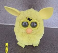Yellow Furby Boom, PA282 with orange beak and Yellow tail, Working