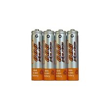 4 x Genuine Endurance AAA Rechargeable Batteries 900 mAh *FREE DELIVERY*