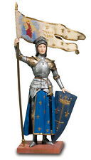SAINT JOAN OF ARC STATUE SCULPTURE FIGURINE HISTORY CHURCH RELIGIOUS CATHOLIC
