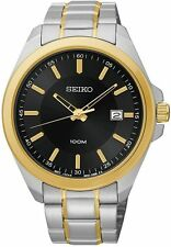 Seiko Two-Tone Stainless Steel Mens Watch SUR072