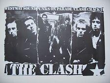 THE CLASH,RARE 1980's POSTER