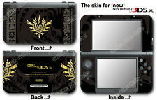 Monster Hunter 4 Ultimate Limited Edition Skin Sticker Decal #2 For NEW 3DS XL