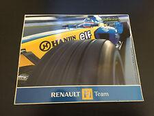 AUTOCOLLANT RENAULT F1 TEAM HANIN FORMULE 1 MOTORSPORT