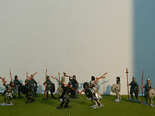 1/32 Scale Viking warriors w upgrade weapon F.P set 1