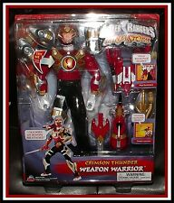 "Power Rangers Ninja Storm: 12"" Crimson Thunder Ranger Doll _ (MIB)"
