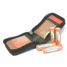 ZIP-UP WALLET for 8x AA or AAA batteries NiMH/NiCd etc